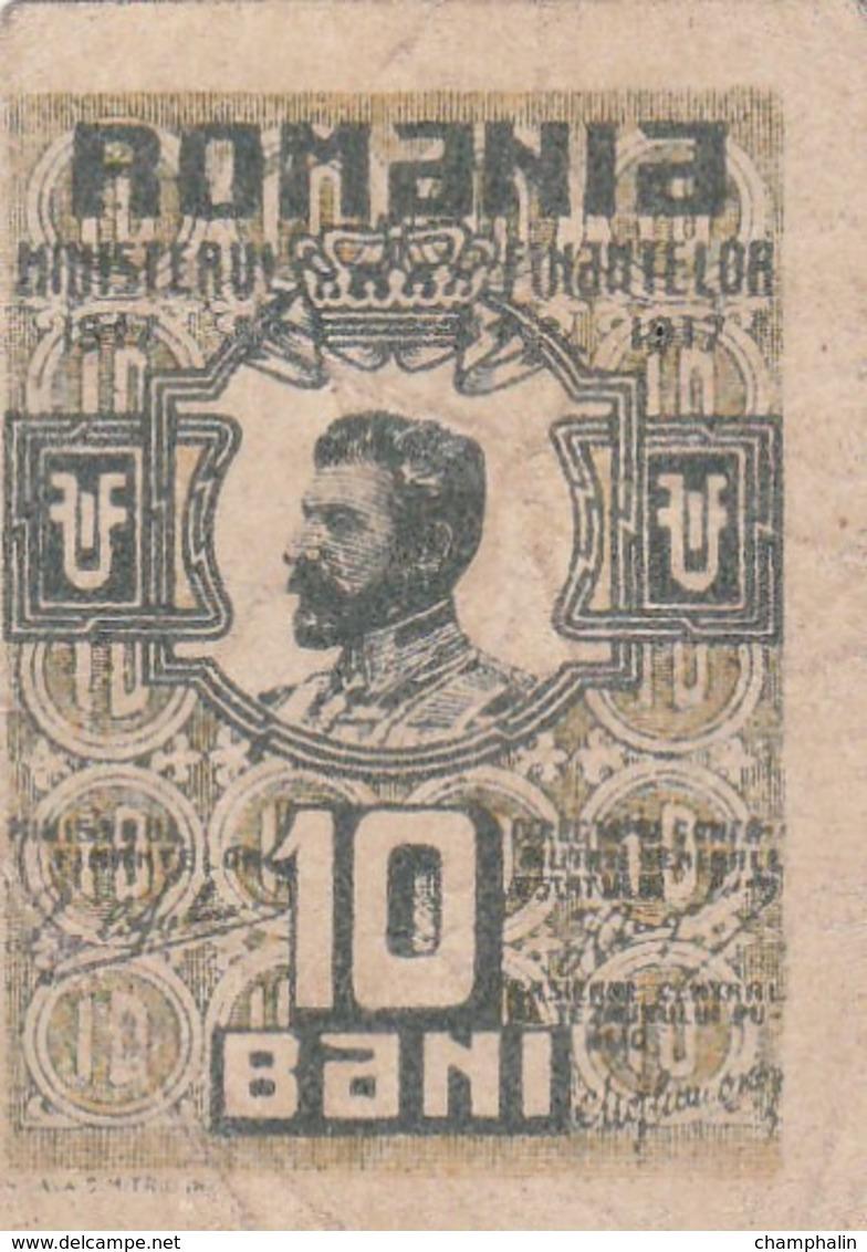 Roumanie - Billet De 10 Bani - Ferdinand Ier - 1917 - P69 - Romania