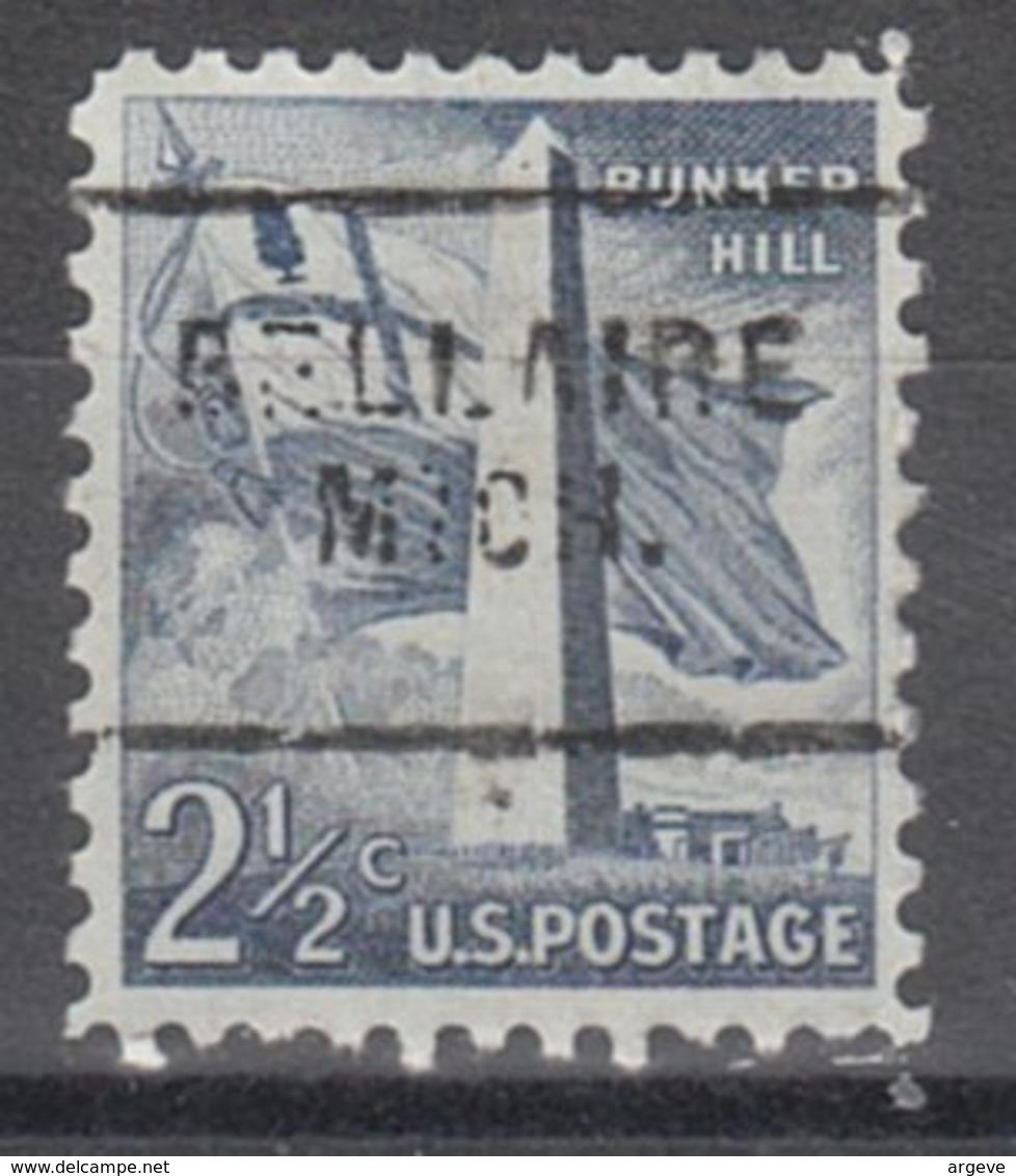 USA Precancel Vorausentwertung Preo, Locals Michigan, Bellaire 703 - Vereinigte Staaten