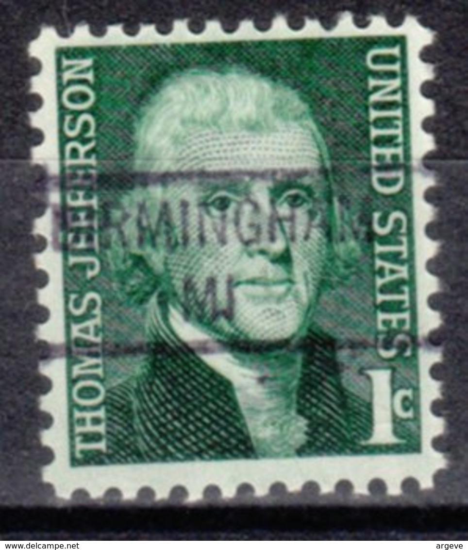 USA Precancel Vorausentwertung Preo, Locals Michigan, Birmingham 841 - Vereinigte Staaten