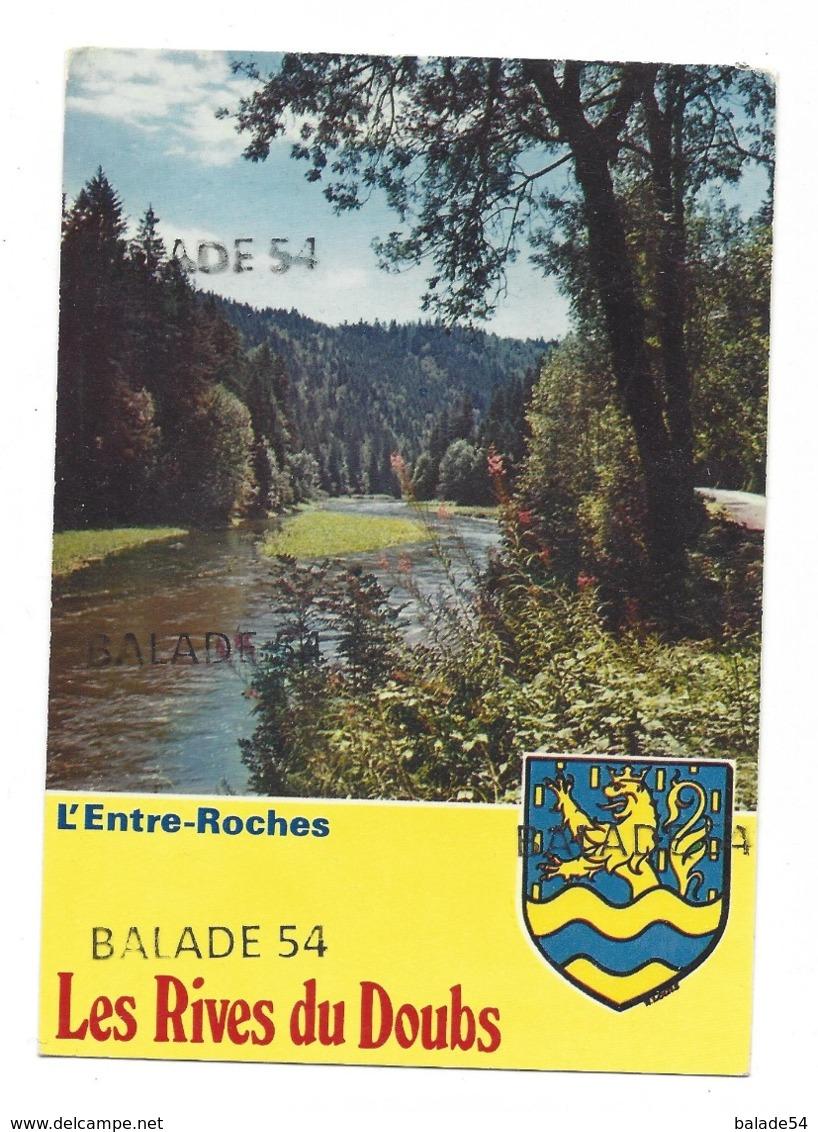 CPM - L'ENTRE - ROCHES (25) Les Rives Du Doubs (Blason) - France
