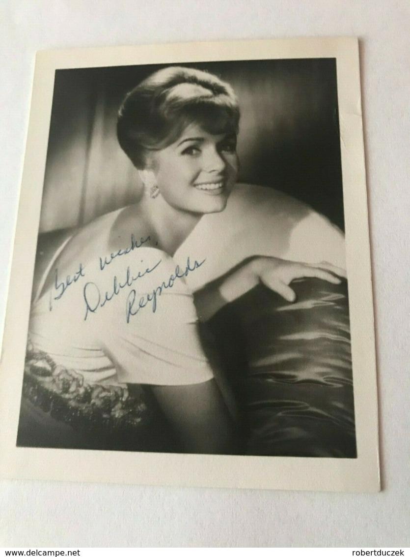 Debbie Reynolds Photo Autograph Hand Signed 10x15 Cm & Letter Hand Signed . - Fotos Dedicadas