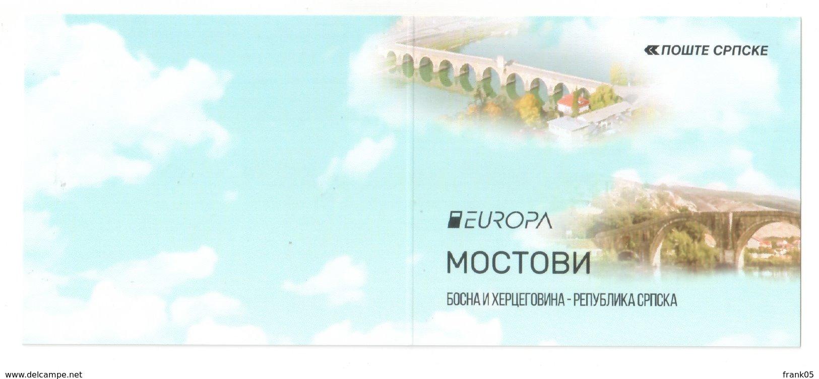 Bosnien-Herzegowina (serbisch) / Bosnia-Herzegowina (serbian) / Bosnie-Herzegovine 2018 MH/booklet EUROPA ** - 2018