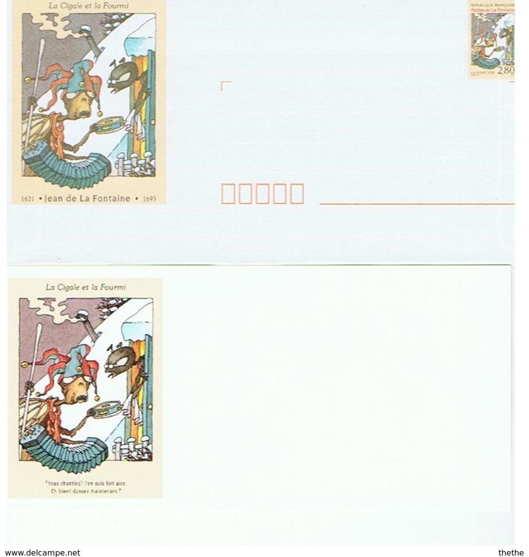 """""""Prêt à Poster """" (PAP)  - Jean De La Fontaine - La Cigale Et La Fourmi - Fairy Tales, Popular Stories & Legends"""