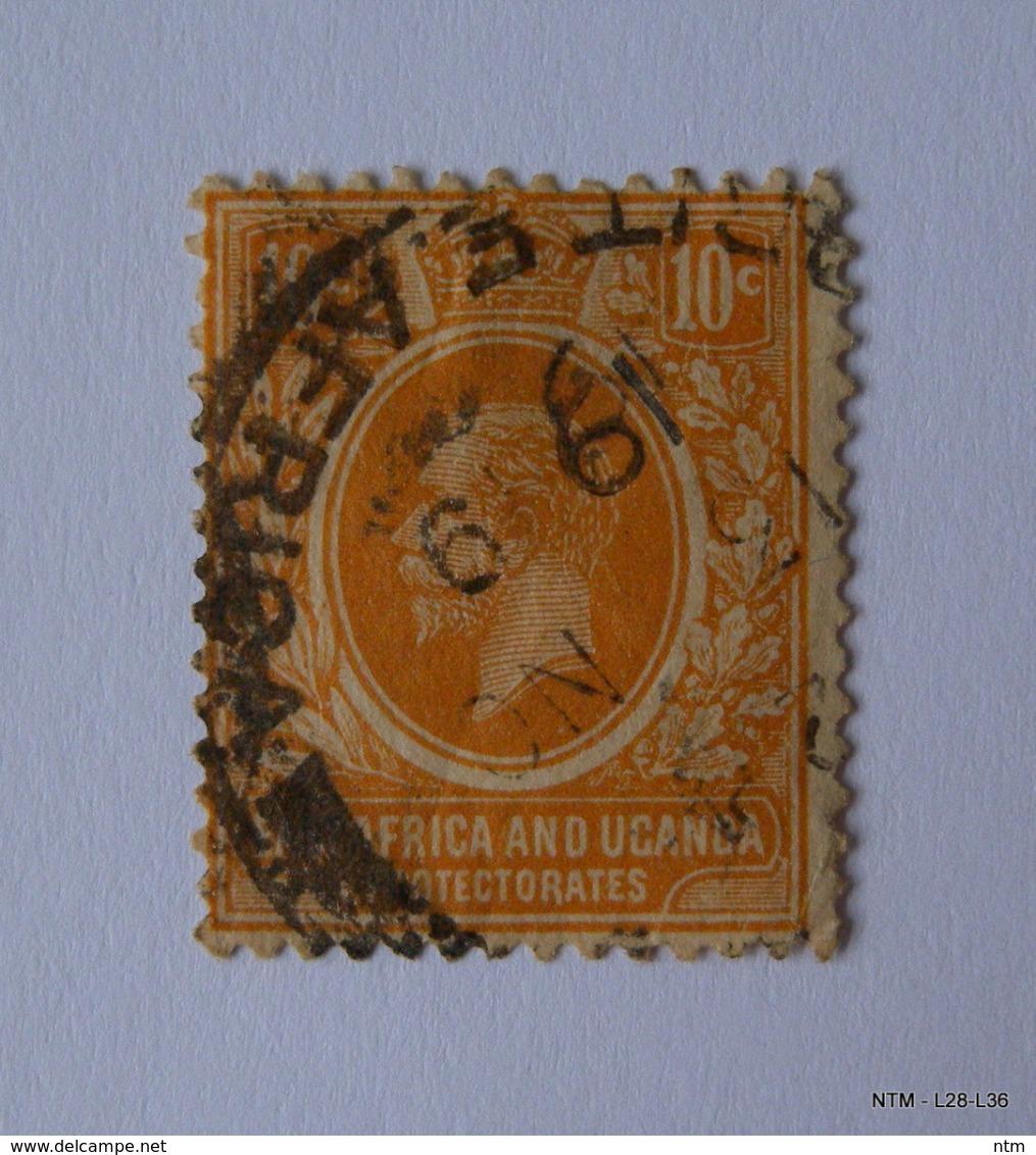 KENYA UGANDA TANGANYIKA - East Africa & Uganda Protectorates. 1907. 10c. SG37. Used. - Kenya, Uganda & Tanganyika