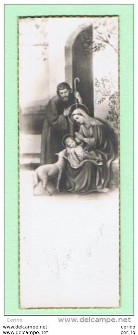 SANTINO:  LA  SACRA  FAMIGLIA  -  Mm. 30x86 - Santini