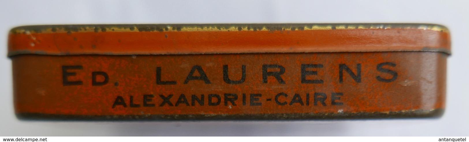 Ancienne Boîte à Cigarettes Prince De Monaco—Tôle—Ed. Laurens—Début XXe - Schnupftabakdosen (leer)