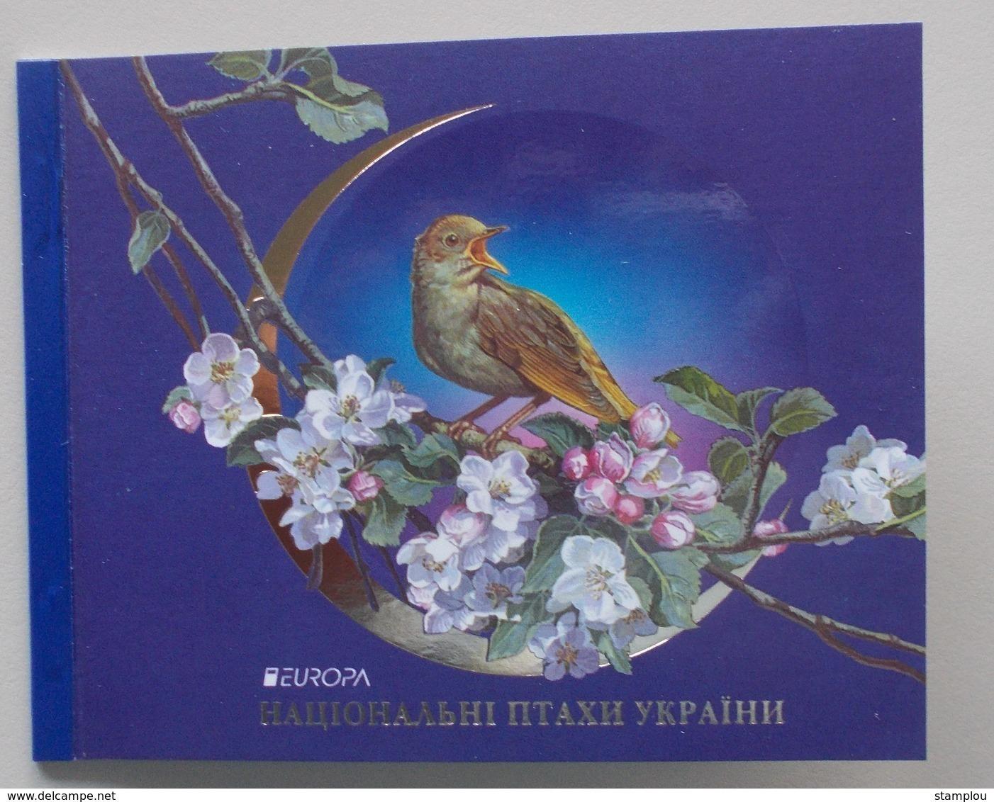 Oekraine-Ukraine 2019 Cept Birds Booklet Mint - 2019