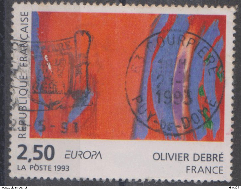 #18 FRANCE - EUROPA 1993 Timbre Oblitéré (2) - 1993