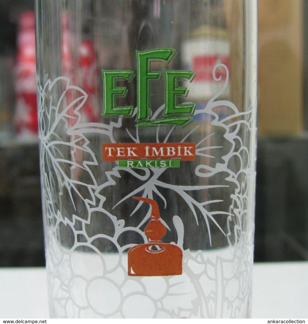 AC - EFE RAKI TEK IMBIK - SINGLE DISTILLATION GLASS FROM TURKEY - Other Collections
