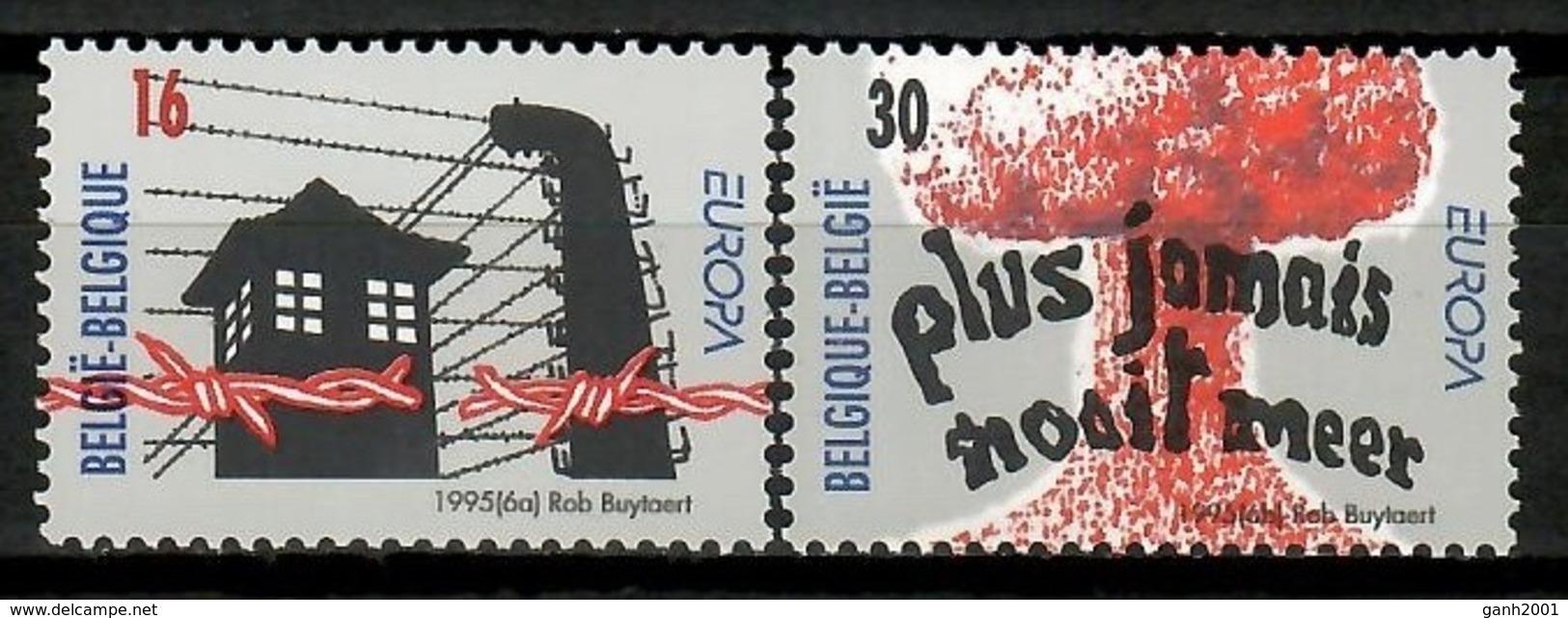 Belgium 1995 Bélgica / Europa CEPT Peace & Freedom MNH Paz Y Libertad / Kj26  30-28 - Europa-CEPT