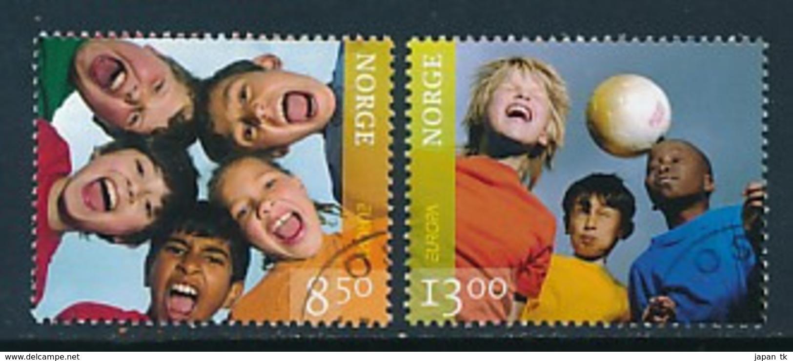 "NORWEGEN Mi.Nr. 1593-1594   EUROPA CEPT ""Integration"" 2006 - Used - Europa-CEPT"