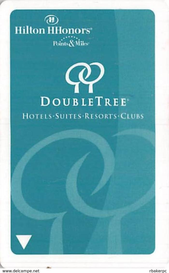 Hilton DoubleTree Hotel Room Key Card - Hotel Keycards