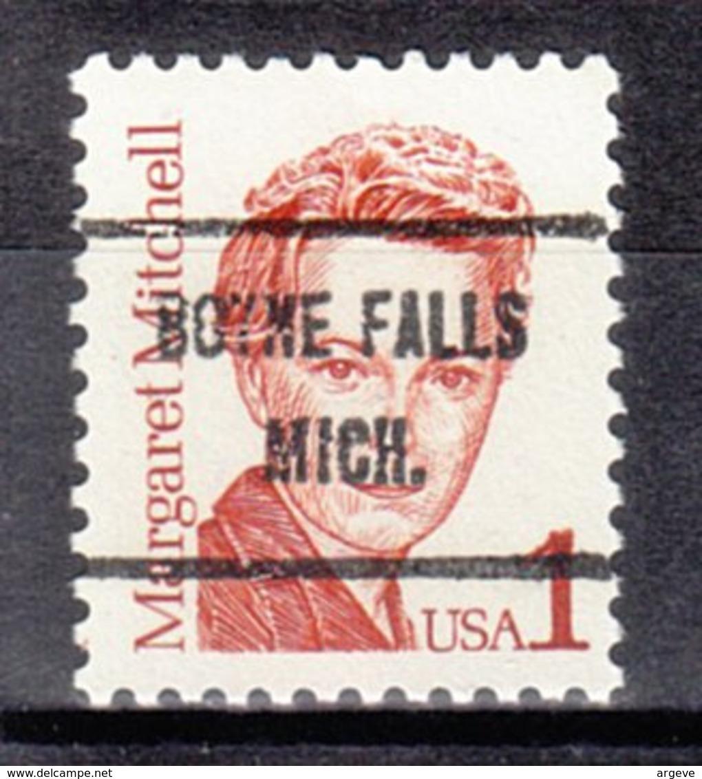 USA Precancel Vorausentwertung Preo, Locals Michigan, Boyne Falls 719 - Vereinigte Staaten
