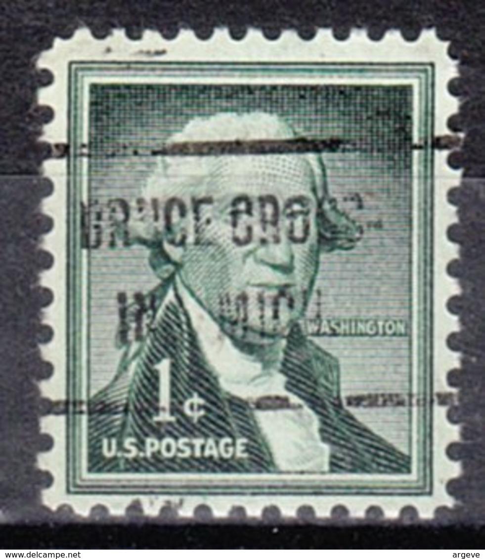 USA Precancel Vorausentwertung Preo, Locals Michigan, Bruce Crossing 719,5 - Vereinigte Staaten