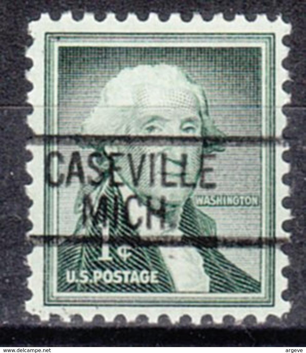 USA Precancel Vorausentwertung Preo, Locals Michigan, Caseville 812 - Vereinigte Staaten