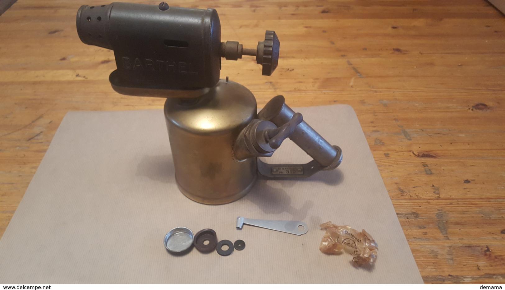 Soldeerlamp Barthel 312, Zeldzaam Model - Outils