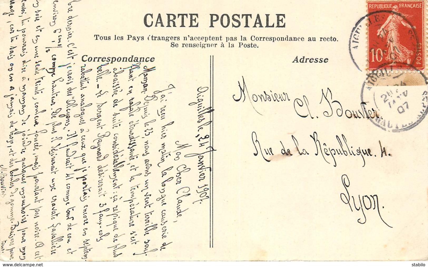 05 - BRIANCON - TRANSPORT DE BLESSE SUR LE TRAINEAU IMPROVISE DE L'ECOLE DE SKI DU 159E R.I. - Briancon