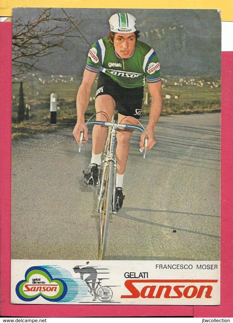 Francesco Moser - Non Viaggiata - FORMATO 12x17 - Ciclismo