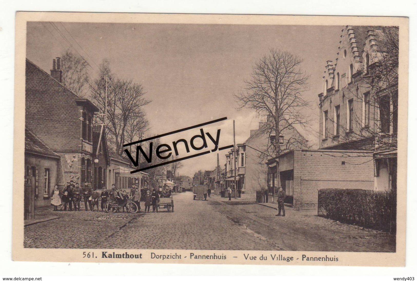 Kalmthout (dorpszicht - Pannenhuis Animée   N°561) - Kalmthout