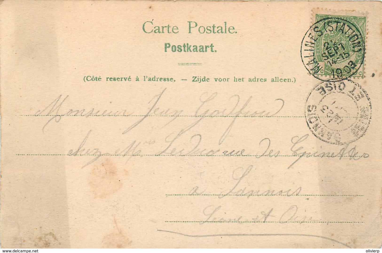 Belgique - Malines - Chaussée De Lierre - Prison Et Caserne D'artillerie - Mechelen