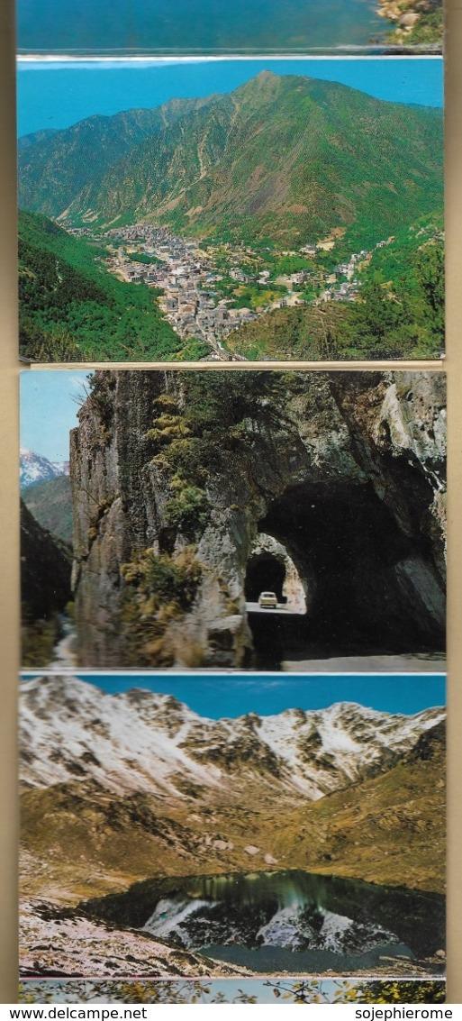 Carnet De 20 Photos (descriptif Dans L'annonce) De Valls D'Andorra 60 Grammes 7scans - Andorre