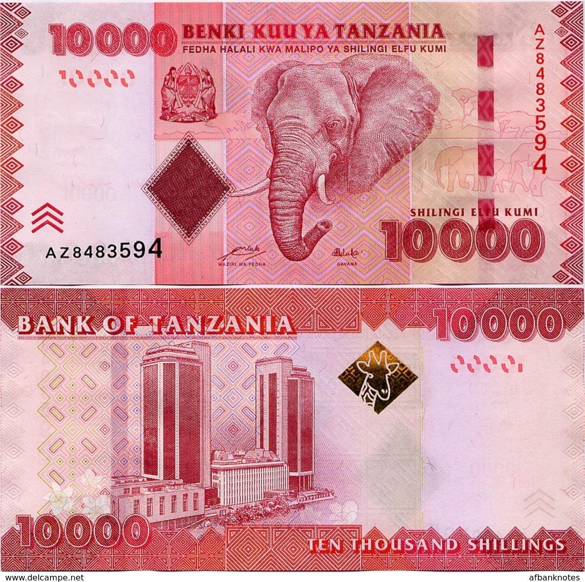 TANZANIA       10,000 Shilingi          P-44a       ND (2011)       UNC  [ 10000 ] - Tanzania