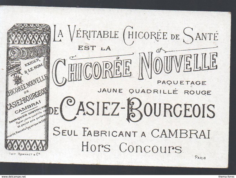 Cambrai (59 Nord) Lot N°5 De Chromos CHICOREE CASIEZ ET BOURGEOIS: VOYAGES (PPP20779) - Cromo