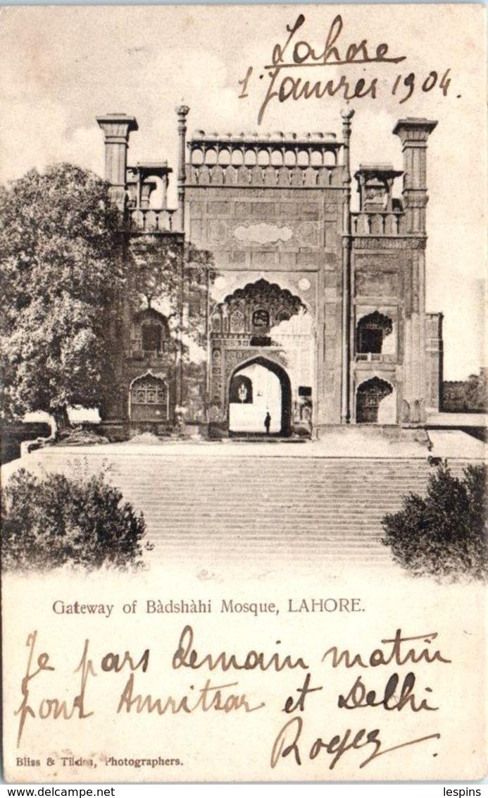 ASIE  - INDE -- LAHORE - Mosque - India