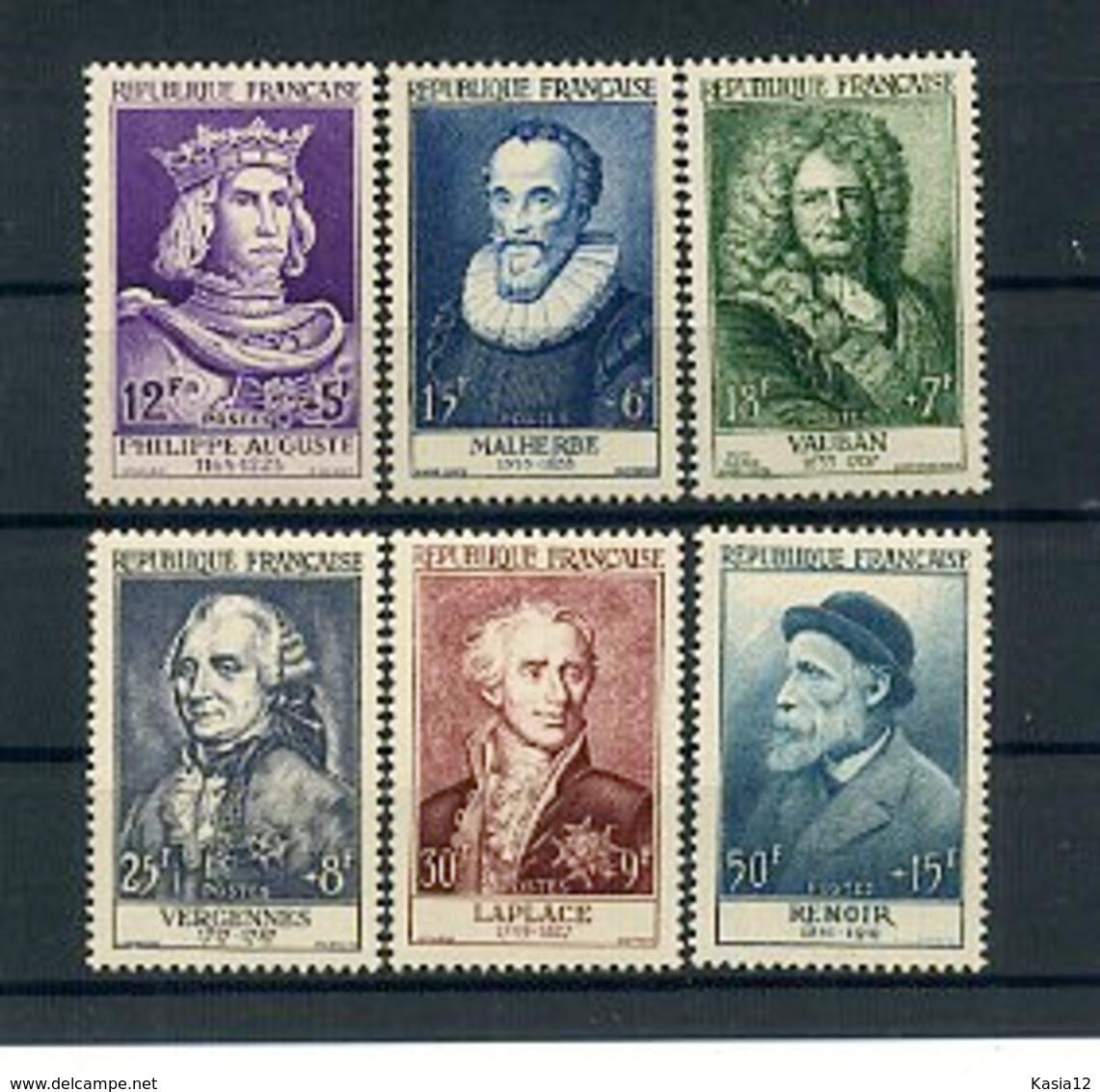 A25005)Frankreich 1053 - 1058** - Frankreich
