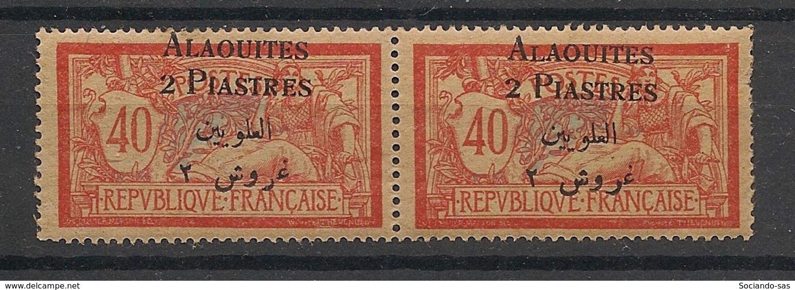 Alaouites - 1925 - N°Yv. 8 - Merson 2pi Sur 40c - Variété Petit L Tenant à Normal - Neuf * / MH VF - Alaouite (1923-1930)