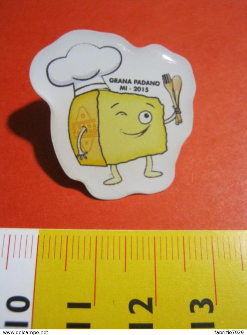 MED.1 PIN'S PIN PINS - ITALIA 2015 EXPO MILANO GRANA PADANO FORMAGGIO CHEESE CIBO ALIMENTAZIONE - Alimentazione