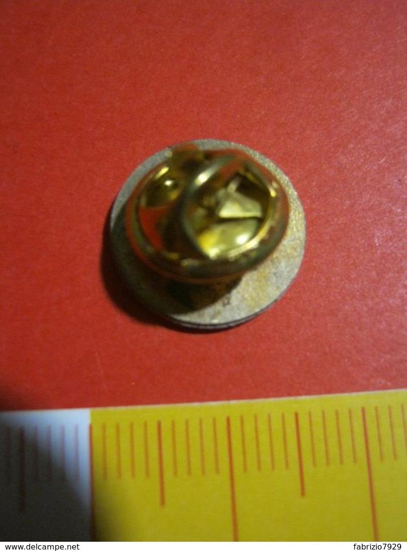 MED.1 PIN'S PIN PINS - LOGO POSTA CORNO LEONE RAMPANTE - Poste