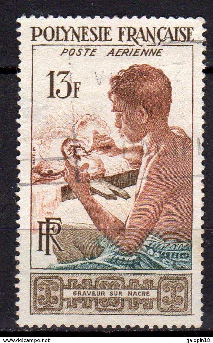 Polynésie Française Yvert N° 1 Aérien Oblitéré Lot 17-51 - Oblitérés