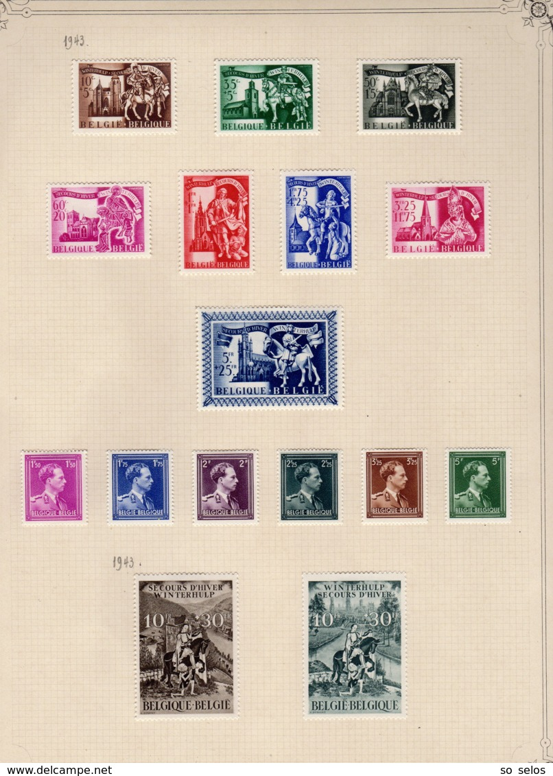 Timbres Belgique  1901/51         Neufs Avec Charniere  X - Belgique