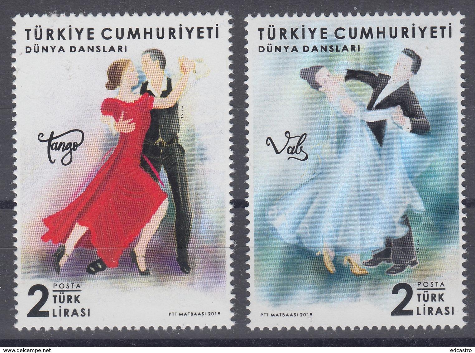 8.- TURKEY 2019 WORLD DANCE - 1921-... República