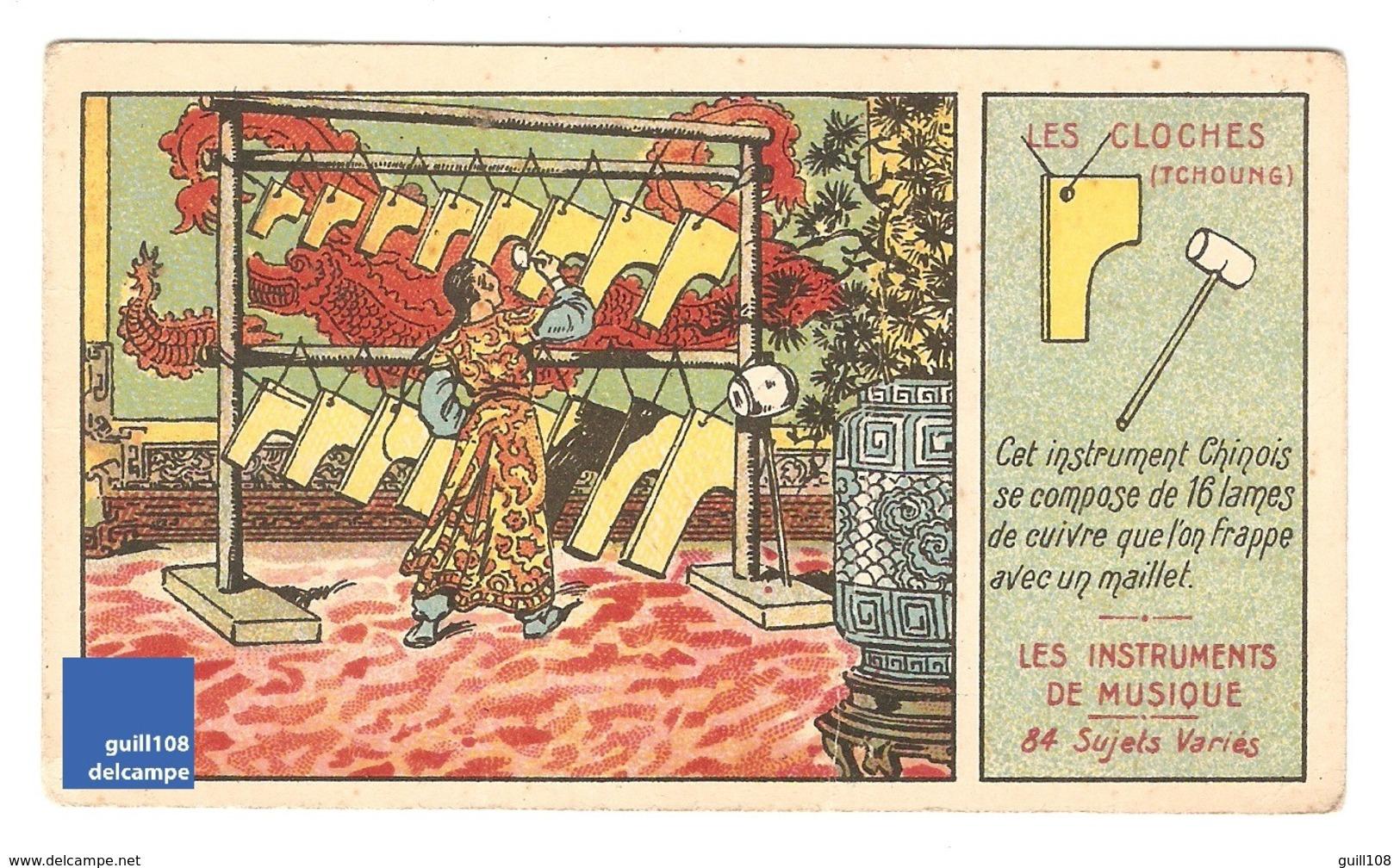 Chromo Instrument De Musique Chinois Les Cloches Chine Maillet A30-9 - Cromo