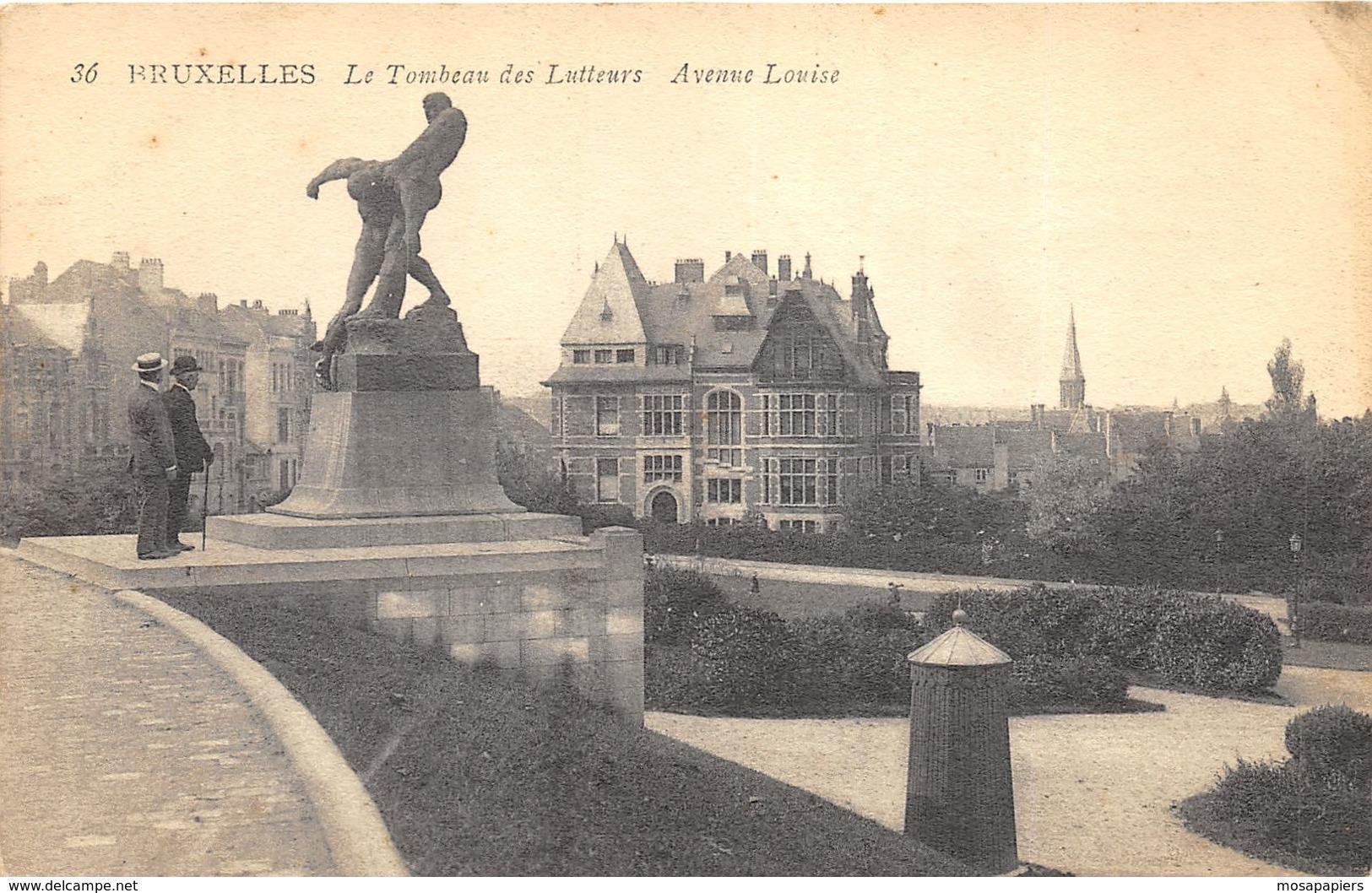 Bruxelles - Le Tombeau Des Lutteurs - Avenue Louise - Brussels (City)