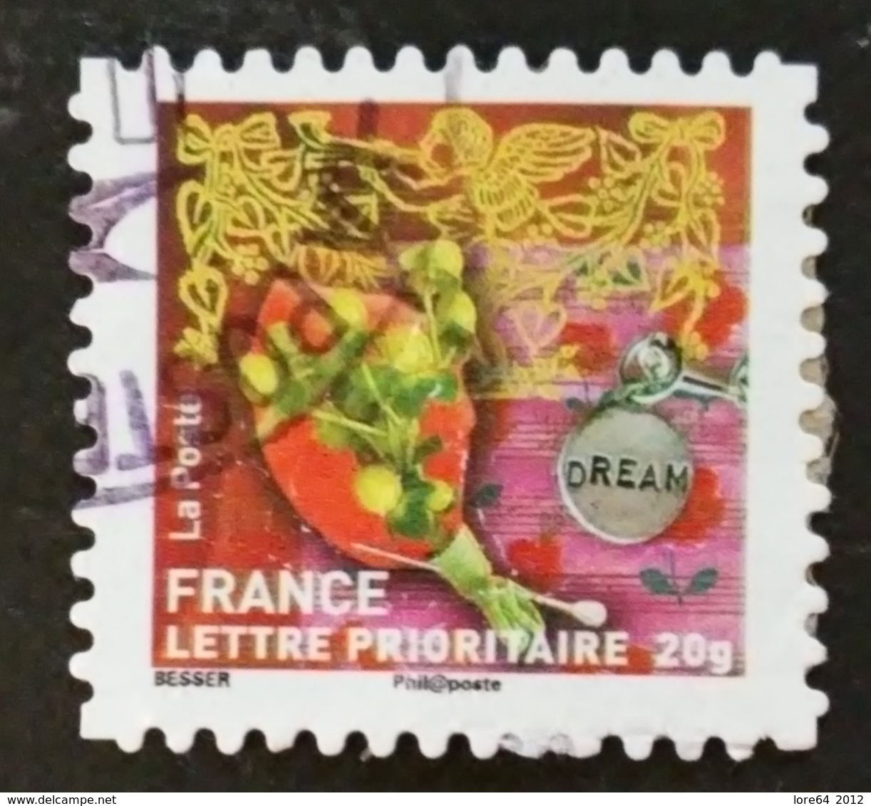 FRANCIA 2010 - 502 - Adhésifs (autocollants)
