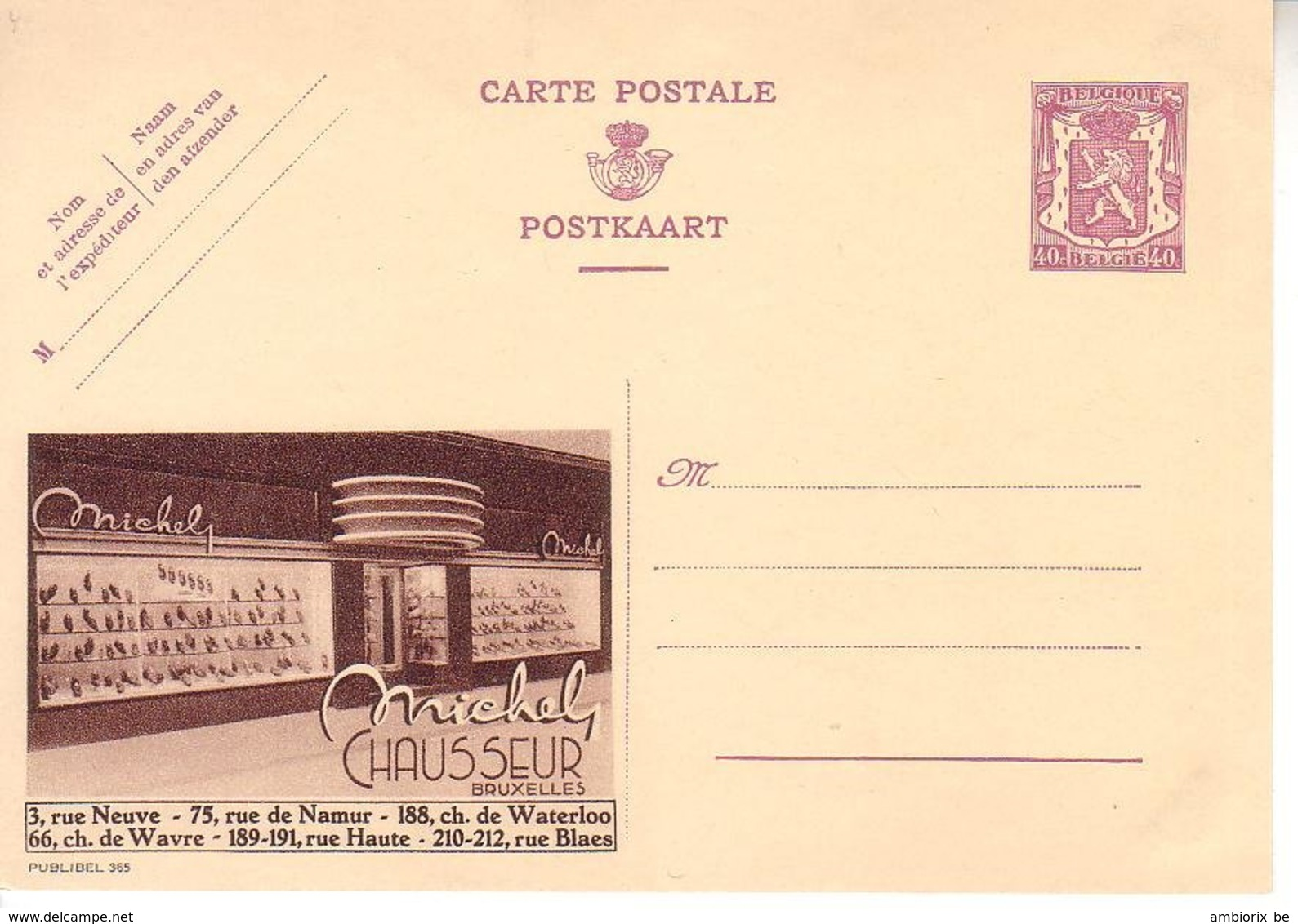 Publibel 365 - Stamped Stationery