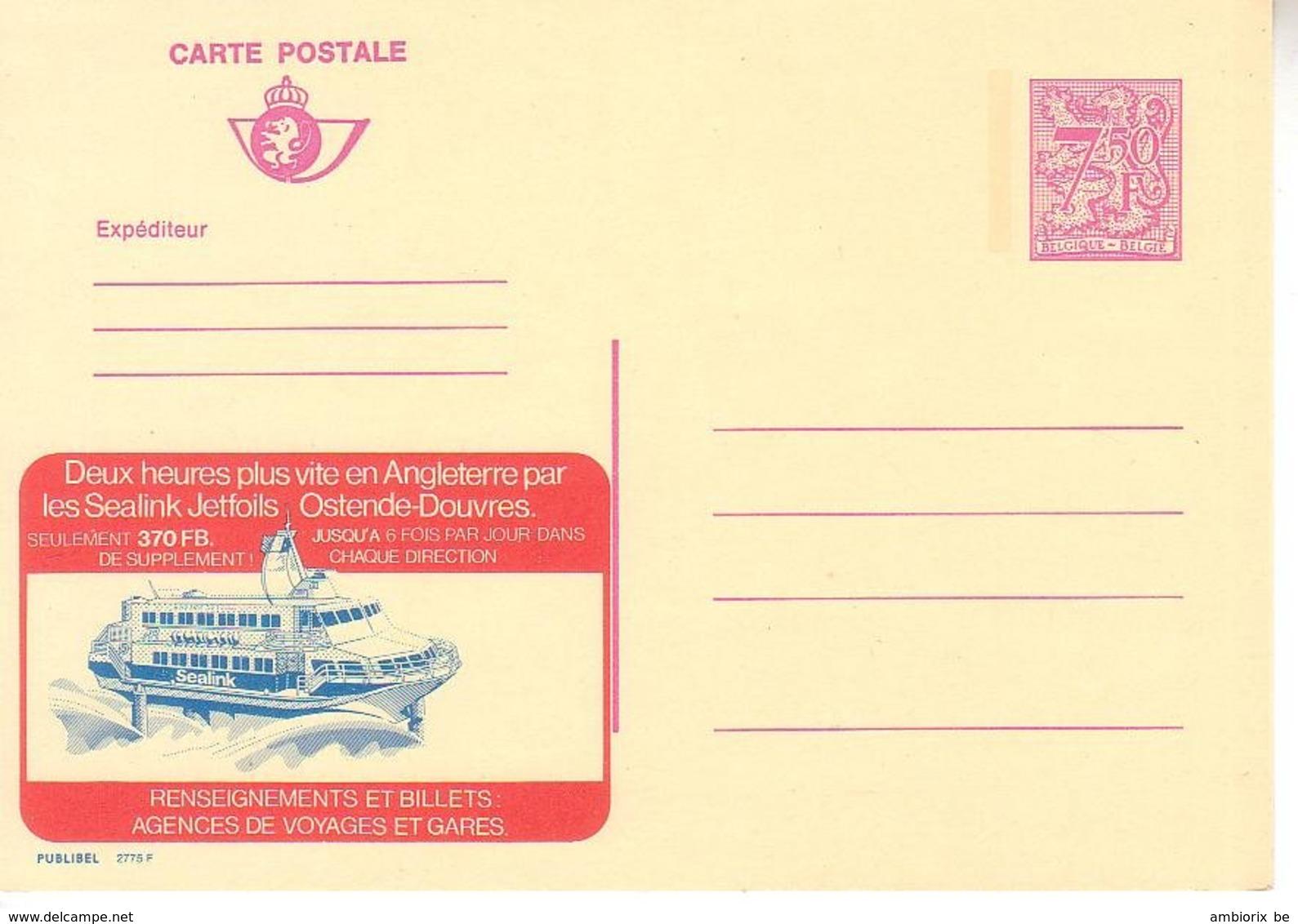 Publibel Neuf 2775 - Enteros Postales