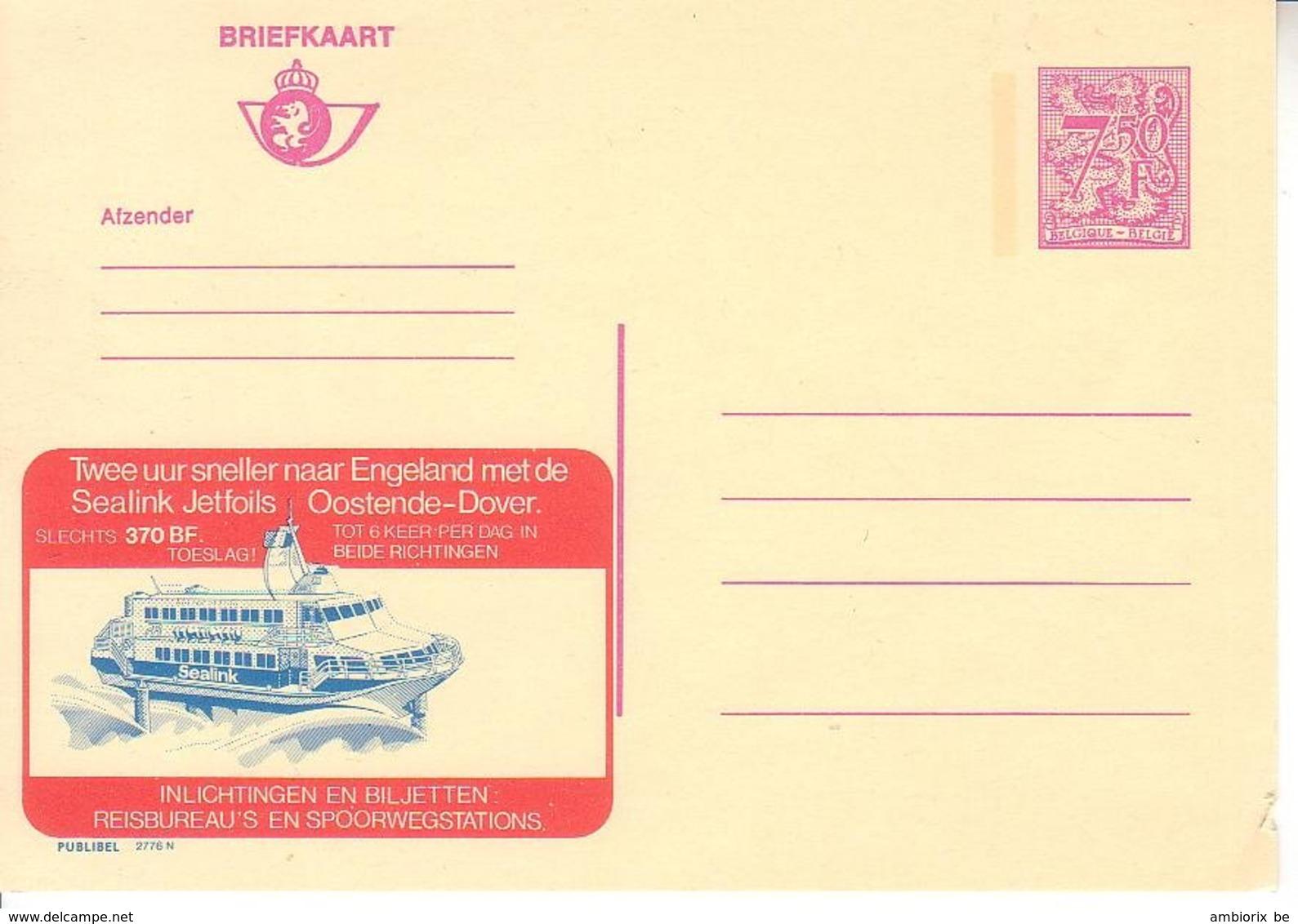Publibel Neuf 2776 - Enteros Postales