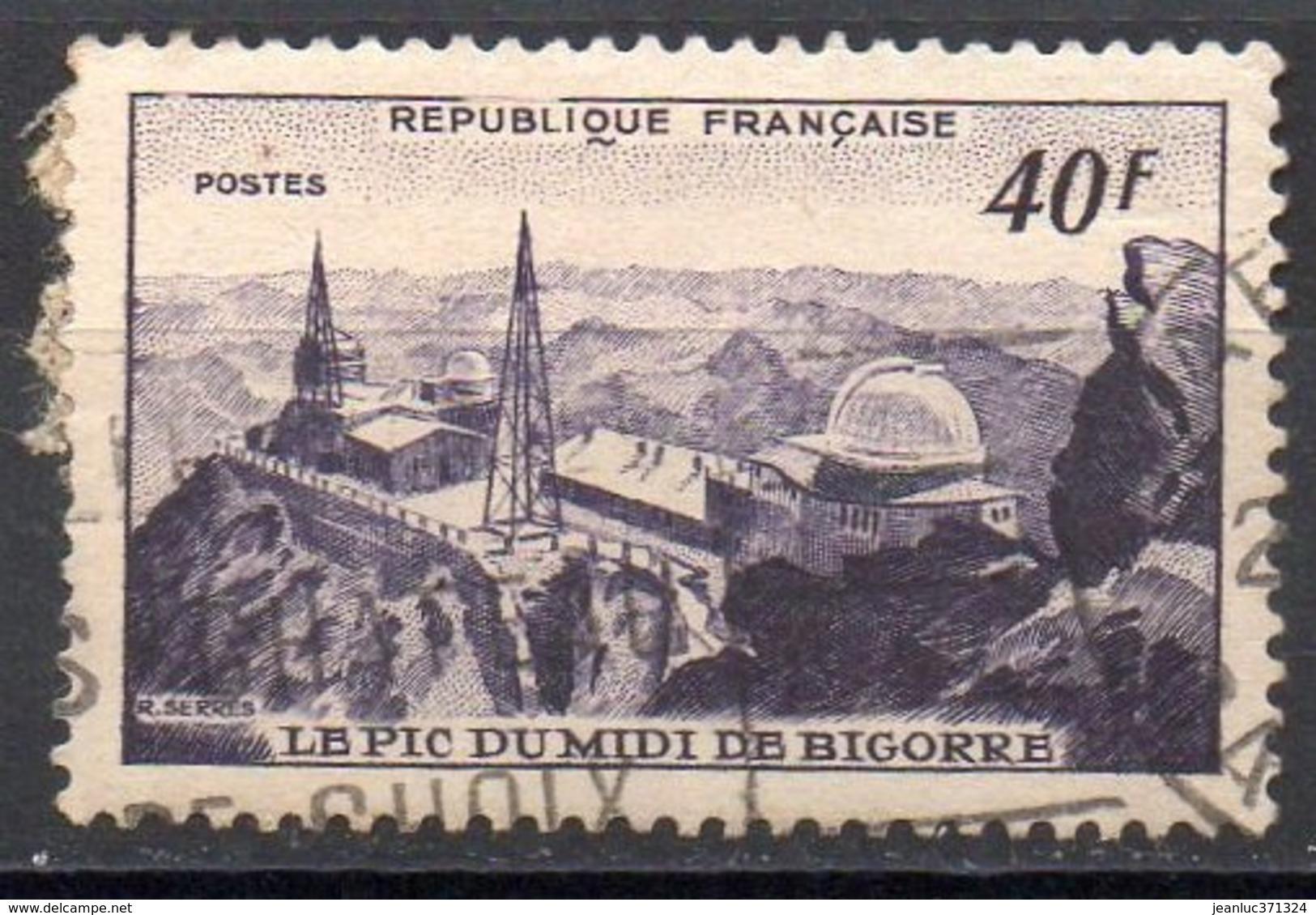 FRANCE N° 916 O Y&T 1951 Pic Du Midi De Bigorre - Oblitérés