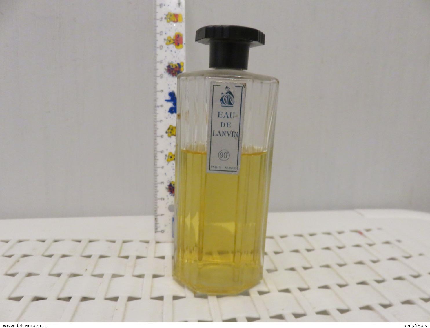 Flacon Vide  Ancien Lanvin - Bottles (empty)