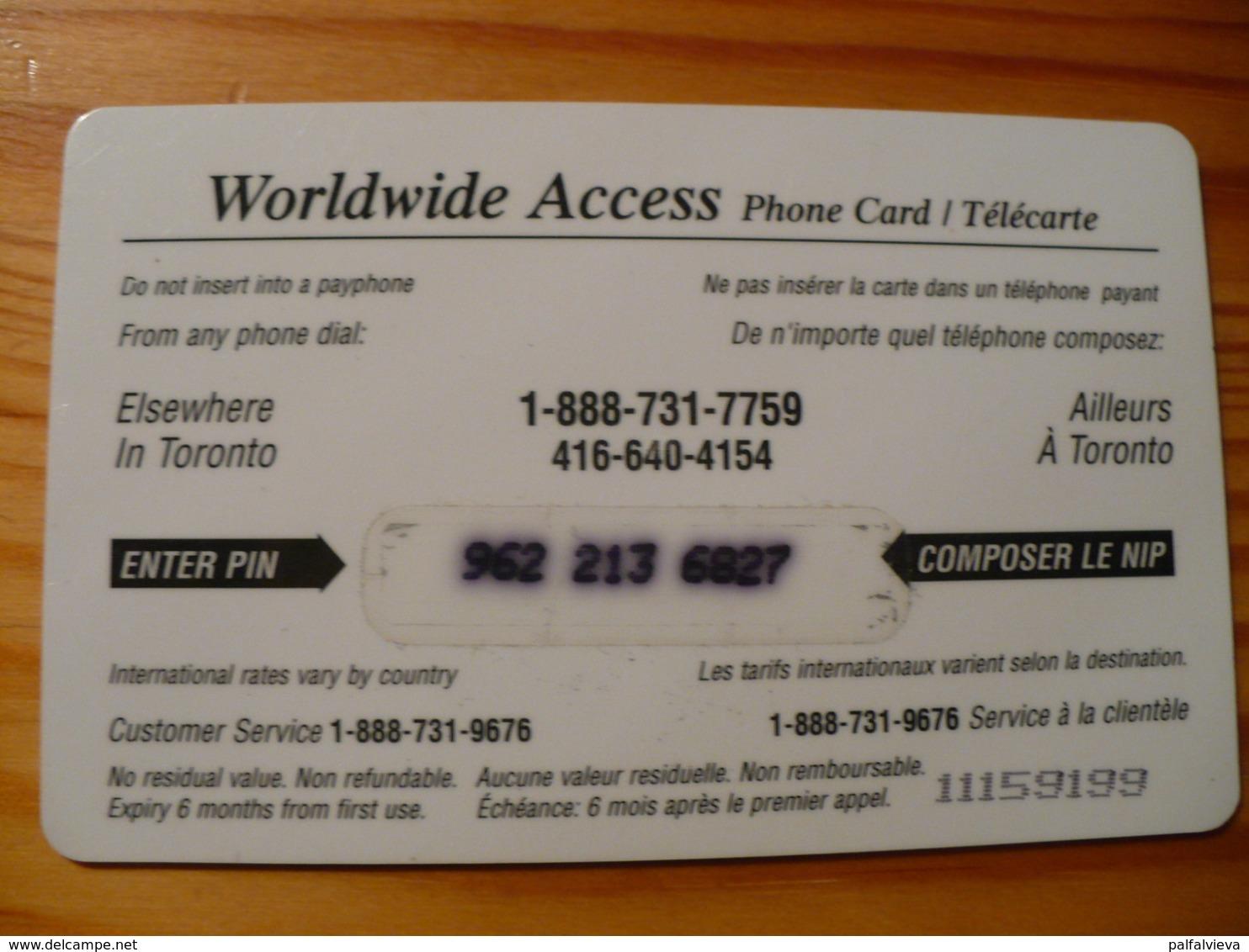 Prepaid Phonecard USA - Train, Railway - Stati Uniti