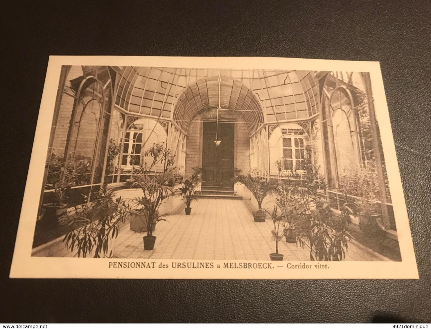 Pensionnat Des Ursulines à Melsbroeck - Corridor Vitré -  ( Steenokkerzeel ) Ed. Henri Georges - Steenokkerzeel