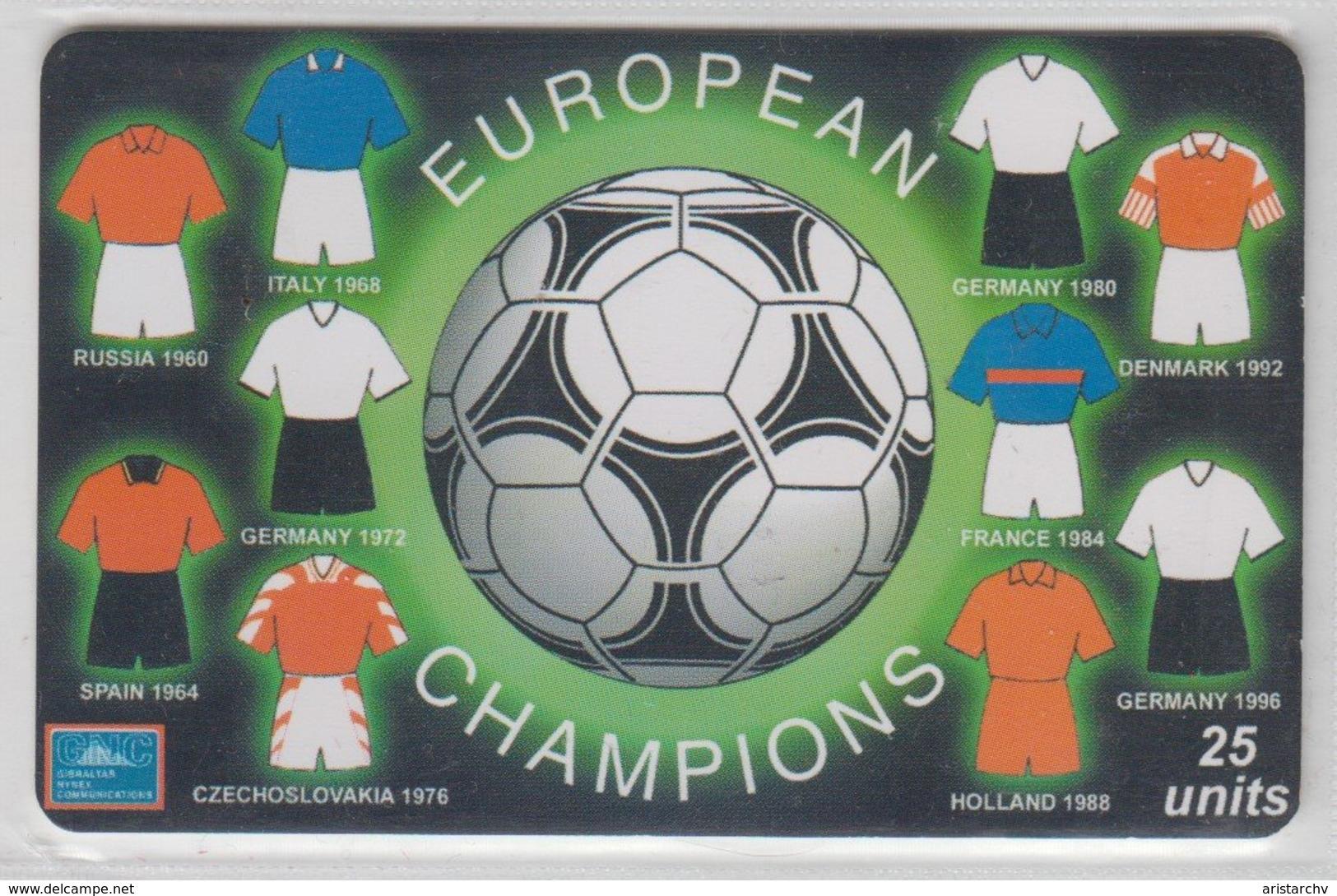 GIBRALTAR 2000 EUROPEAN FOOTBALL CUP - Sport