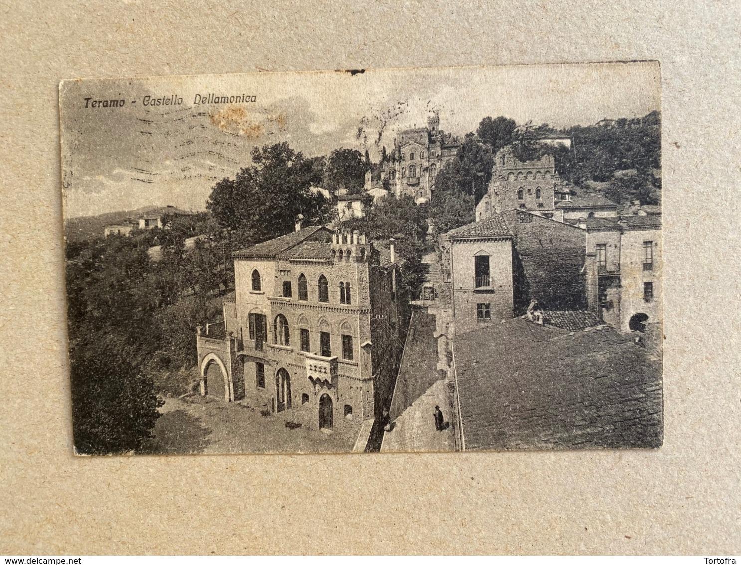 TERAMO CASTELLO DELLAMONICA 1929 - Teramo