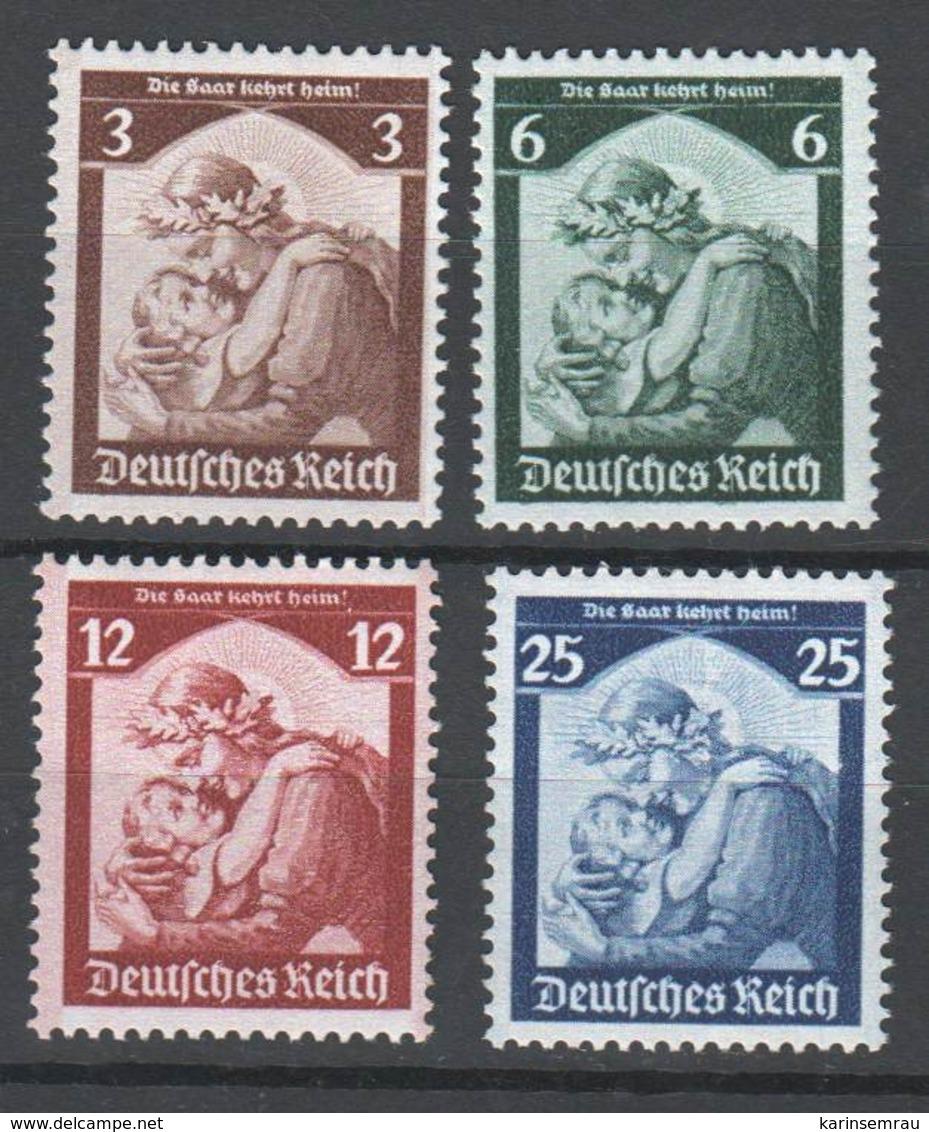 Drittes Reich , Nr 565-68 Postfrisch ( 120.-) - Deutschland