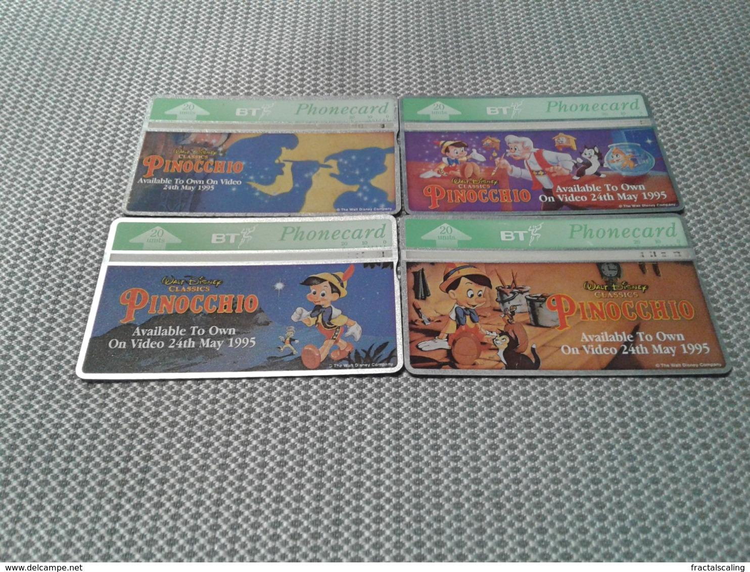 Uk  - Nice Disney Set - Belgio