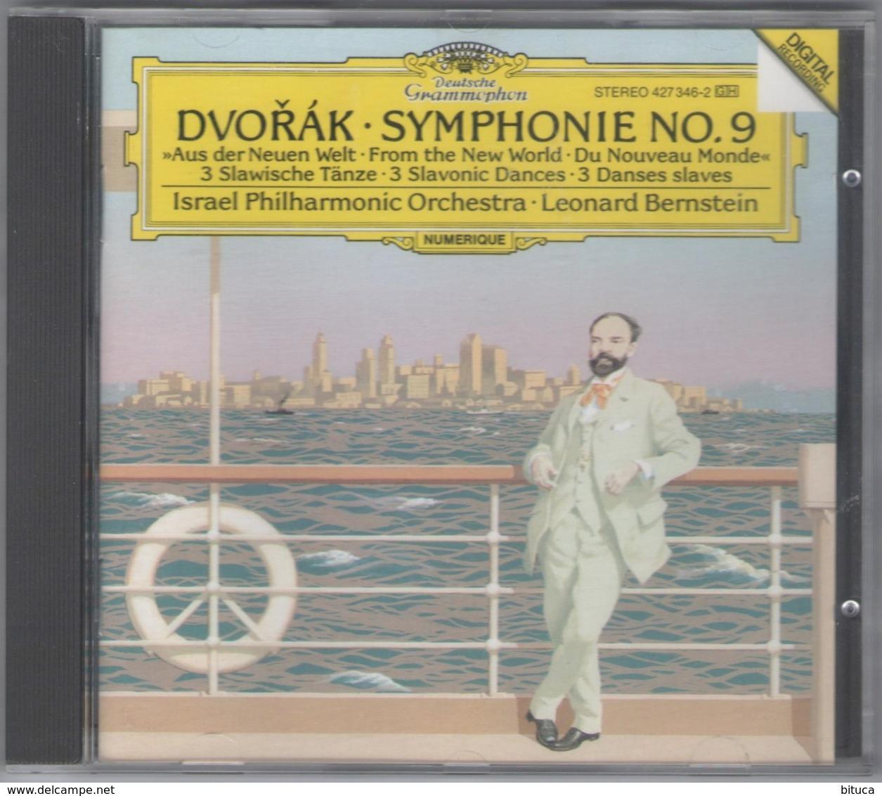 CD SYMPHONIE N° 9 THE NEW ANTONIN DVORAK BON ETAT - Klassik